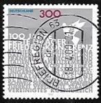 Sellos de Europa - Alemania -  Centenary of First Peace Conference, The Hague