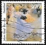Sellos de Europa - Alemania -  Death Centenary of Johann Strauss the younger