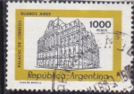 Sellos del Mundo : America : Argentina : palacio de correos- Buenos Aires
