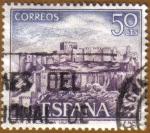 Sellos de Europa - España -  Paisajes y Monumentos - La Alcazaba en ALMERIA