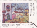 Stamps : America : Argentina :  CAMINITO- Buenos Aires