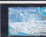 Sellos de America - Argentina -  glaciar Perito Moreno -Santa Cruz  UP