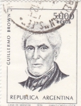 Stamps : America : Argentina :  Guillermo Brown