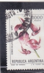 Stamps Argentina -  flores- CEIBO