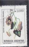 Sellos de America - Argentina -  flores- PATITO