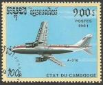 Sellos de Asia - Camboya -  A-310