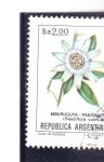 Stamps Argentina -  flores- PASIONARIA