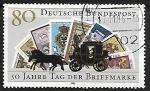 Sellos de Europa - Alemania -  50th Anniversary of Stamp Day