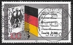 Stamps Germany -  40 years Federal Republic of Germany