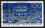 Sellos de Europa - Alemania -  Council of Europe, 40th Anniversary