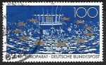 Stamps Germany -  Council of Europe, 40th Anniversary
