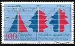Sellos de Europa - Alemania -  Centenary of National Insurance