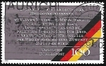 Stamps Germany -  40th Anniv. of Expelled Germans Charter