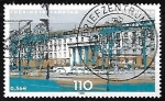 Stamps Germany -  Parliaments of the Federal States in Germany