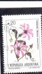 Stamps Argentina -  flores- VIRREINA