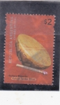 Stamps Argentina -  Cultura Mapuche- tambor ritual