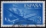 Sellos del Mundo : Europa : España :  INT-SUPERCONSTELLATION Y NAO
