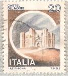 Sellos del Mundo : Europa : Italia : Italia 20L - Castel del Monte