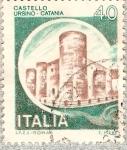 Sellos del Mundo : Europa : Italia : Italia 40L - Castello Ursino - Catania