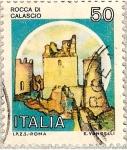 Sellos del Mundo : Europa : Italia : Italia 50L - Rocca de Calascio