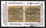 Stamps Germany -  20 Years Federal Republic of Germany