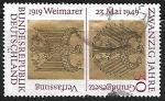 Sellos de Europa - Alemania -  20 Years Federal Republic of Germany
