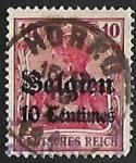 Stamps Germany -  Belgium