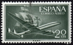 Stamps Spain -  INT-SUPERCONSTELLATION Y NAO
