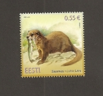 Stamps Estonia -  Nutria