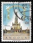 Sellos de Africa - Angola -  Basilica de Fatima