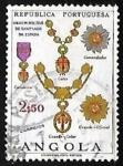 Sellos de Africa - Angola -  Ordem Militar de Santiago  da Espada