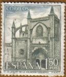Stamps Spain -  Paisajes y Monumentos - Sta. Mª. de la Asuncion Lequeito en VIZCAYA