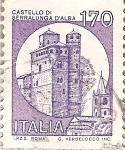 Sellos del Mundo : Europa : Italia : Castillos Peq 170L - Castello di Serralunga D' Alba
