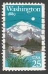 Sellos de America - Estados Unidos -   Washington Statehood, 100th Anniversary (1989)