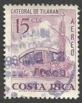 Sellos del Mundo : America : Costa_Rica : Catedral de Tilarán (1967)