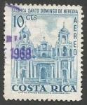 Sellos del Mundo : America : Costa_Rica : Basílica de Santo Domingo, Heredia (1967)