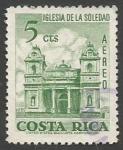 Sellos del Mundo : America : Costa_Rica : Iglesia de la Soledad (1967)