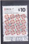 Sellos del Mundo : America : Argentina : producto nacional- cereza
