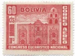 Stamps of the world : Bolivia :  Conmemoracion del II Congreso Eucaristico