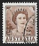 Stamps Australia -  Queen Elizabeth II