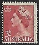 Sellos de Oceania - Australia -  Queen Elizabeth II