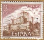 Sellos de Europa - España -  Castillos de España - Biar en Alicante