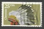 Sellos del Mundo : America : Estados_Unidos : Cheyenne