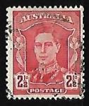 Stamps Australia -  King George VI
