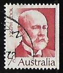Stamps Australia -  Sir Joseph Cook (1860-1947)