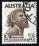 Sellos de Oceania - Australia -  Aborigen