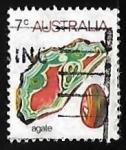 Sellos de Oceania - Australia -  Agate