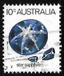 Sellos de Oceania - Australia -  Star Sapphire