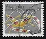 Stamps Australia -  Banded Coral Shrimp
