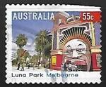Sellos de Oceania - Australia -  Luna Park, Melbourne